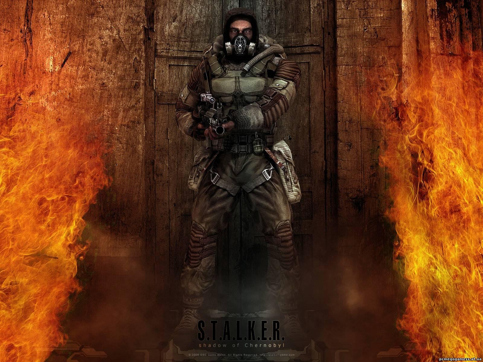 Обои S.T.A.L.K.E.R. Shadow of Chernobyl (Сталкер)Обои игры 1600x1200.